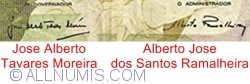 5000 Escudos 1988 (24. X.) - Signatures Jose Alberto Tavares Moreira/ Alberto Jose dos Santos Ramalheira