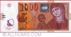 Imaginea #1 a 1000 Denari (Денари) 2003