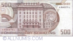 Image #2 of 500 Schilling 1985 (1. VII.) (1986)