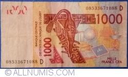 Image #1 of 1000 Francs 2003/(20)08