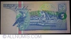 Image #2 of 5 Gulden 1991 (9. VII.)