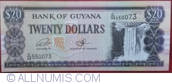 Image #1 of 20 Dollars ND (1996-2016) - signatures Dr. Bobind Ganga / Ashni Singh