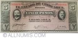 Image #1 of 5 Pesos D.1914
