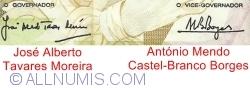 5000 Escudos 1991 (31. X.) - Signatures José Alberto Tavares Moreira/ António Mendo Castel-Branco Borges