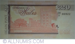 Image #2 of Wales - 20 Pounds 2017