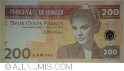 Image #1 of Monaco - 200 Francs 2018
