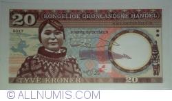 Imaginea #1 a Groenlanda - 20 Coroane 2017
