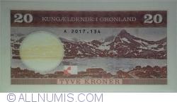 Image #2 of Greenland - 20 Kroner 2017