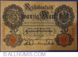Image #1 of 20 Mark 1914 (19. II.) - T