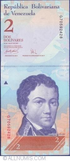Imaginea #1 a 2 Bolivares 2007 (24. V.)