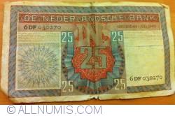 Image #2 of 25 Gulden 1949 (1. VII.)