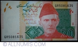Image #1 of 20 Rupees 2015