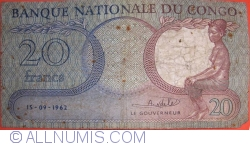 Image #1 of 20 Francs 1962 (15. IX.)