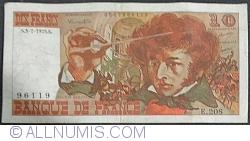 Image #1 of 10 Francs 1975 (3. VII.)