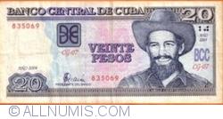 Image #1 of 20 Pesos 2004