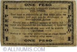 Image #2 of 1 Peso 1943