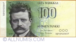 Imaginea #1 a 100 Markkaa 1986