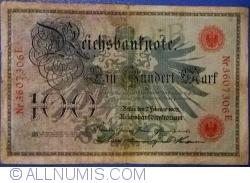 Image #1 of 100 Mark 1908 (7. II.) - B