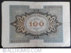 Imaginea #2 a 100 Mark 1920 (1. XI.) - J