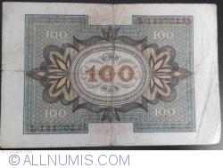 Imaginea #2 a 100 Mark 1920 (1. XI.) - E