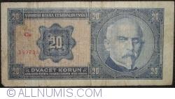 Image #1 of 20 Korun 1926 (1. X.) - 1