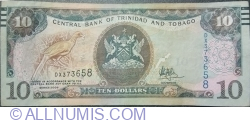 Imaginea #1 a 10 Dolari 2006 (2017) - semnătură Dr. Alvin Hilaire