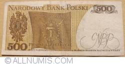 Image #2 of 500 Złotych 1974 (16. XII.)