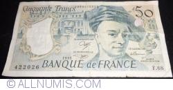 Image #1 of 50 Francs 1991