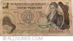 Imaginea #1 a 20 Pesos Oro 1977 (20. VII.)