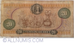 Imaginea #2 a 20 Pesos Oro 1977 (20. VII.)
