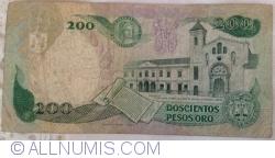 Imaginea #2 a 200 Pesos Oro 1988 (1. XI.)