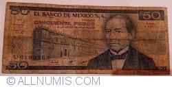 Image #1 of 50 Pesos 1981 (27. I.) - Serie HP
