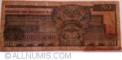 Image #2 of 50 Pesos 1981 (27. I.) - Serie HP