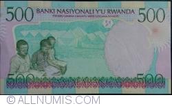 Image #2 of 500 Francs 1998 (1. XII.)
