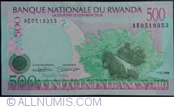 Image #1 of 500 Francs 1998 (1. XII.)