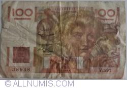 100 Franc 1954 (1. VI.)