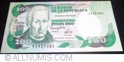 Imaginea #1 a 200 Peso Oro 1992 (10. VIII.)