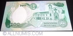 Imaginea #2 a 200 Peso Oro 1992 (10. VIII.)