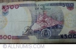 Imaginea #2 a 500 Naira 2009 - semnături (2)