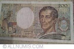 Image #1 of 200 Francs 1988