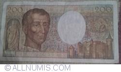 Image #2 of 200 Francs 1988
