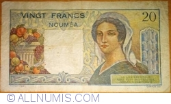 20 Franci ND (1951-1963)