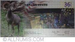 Image #1 of 36 Dollars 2016 - Nevada
