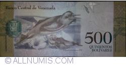 Imaginea #2 a 500 Bolivares 2016 (18. VIII.)