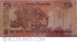 Image #2 of 10 Rupees 2011