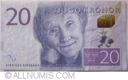 Image #1 of 20 Kronor ND (2015)
