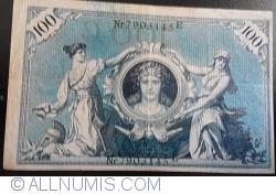 Image #2 of 100 Mark 1908 (7.II.) - C (reissue 1918-1922)