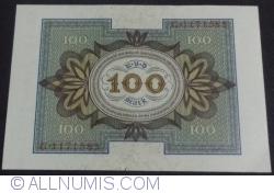 Imaginea #2 a 100 Mark 1920 (1. XI.) - C