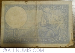 Imaginea #2 a 10 Franci 1940 (7. XI.)