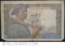 Imaginea #1 a 10 Franci 1941 (9. X.)